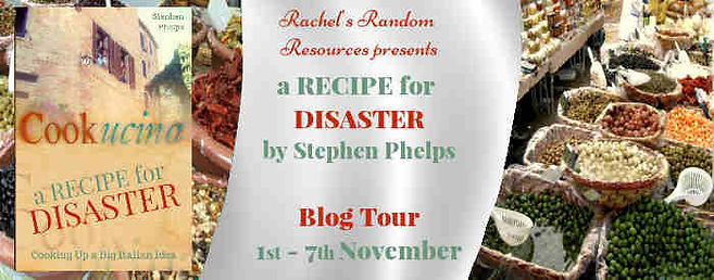 A Recipe For Disaster Blog Tour Banner