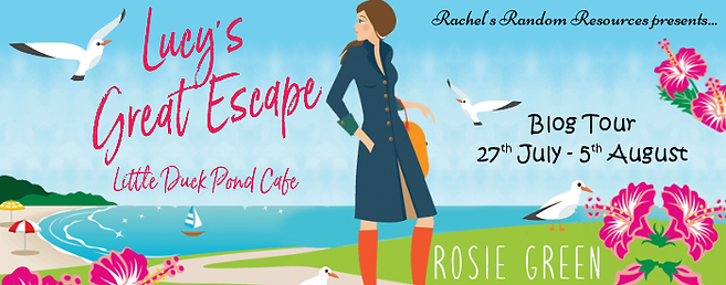 Lucy's Great Escape, Little Duck Pond Cafe Banner