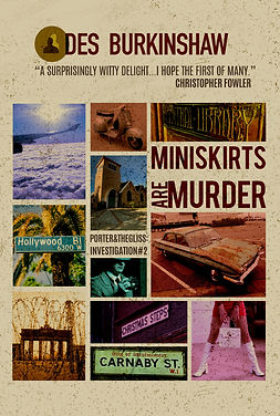 Miniskirts are Murder Cover