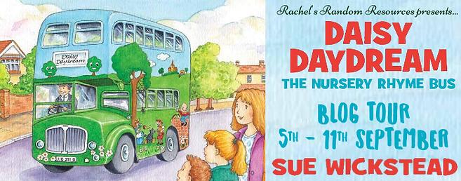 Daisy Daydream the Nursery Rhyme Bus Banner