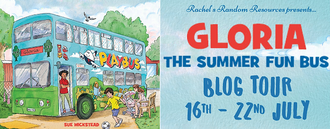 Gloria the Summer Fun Bus Banner