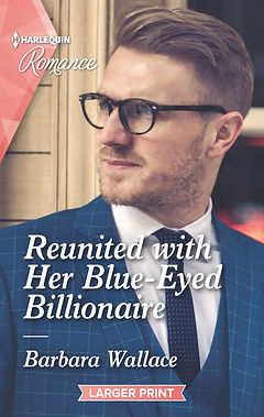 Reunited with Her Blue-Eyed Billionaire Cover