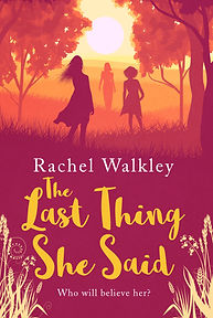 The Last Thing She Said Cover