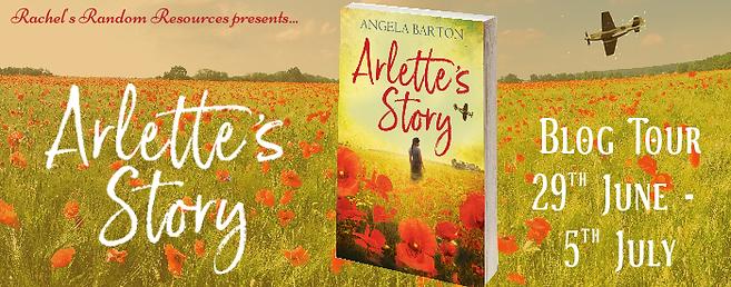 Arlette's Story Banner