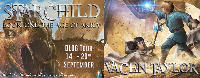 Starchild Book One: The Age of Akra Banner