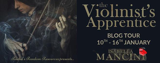 The Violinist's Apprentice Banner