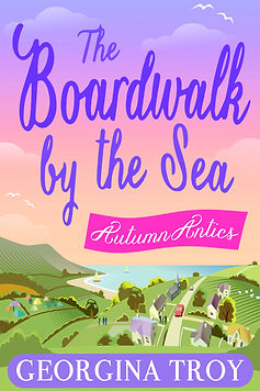 The Boardwalk by the Sea - Autumn Antics Cover