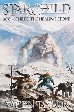 Starchild Book Three:  The Healing Stone Cover