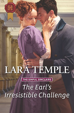 The Earl's Irresistible Challenge Cover