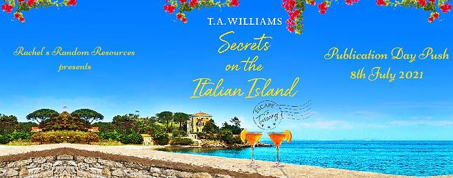 Secrets on the Italian Island Banner