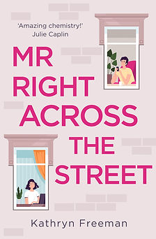 Mr Right Across The Street Cover
