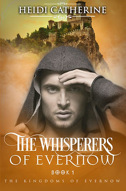 The Whisperers of Evernow Cover