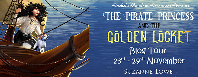 The Pirate Princess and The Golden Locket Banner