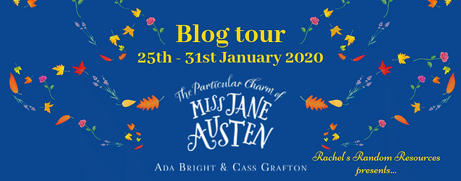 The Particular Charm of Miss Jane Austen Banner