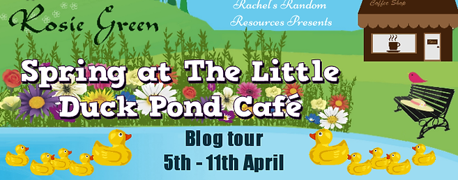 Spring at the Little Duck Pond Cafe Banne