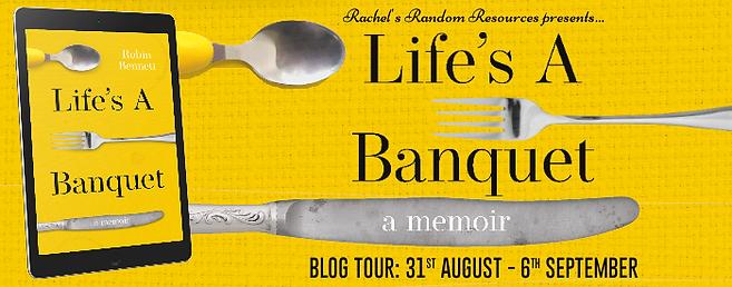 Lifes A Banquet Banner