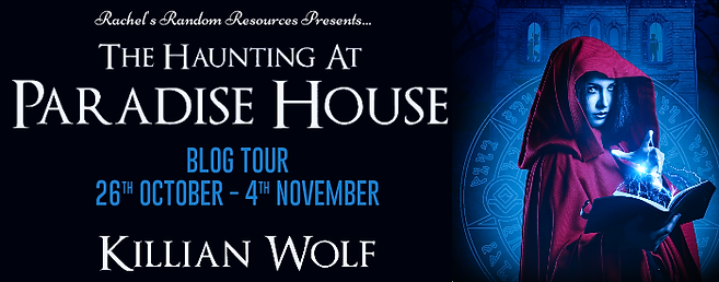 The Haunting at Paradise House Banner