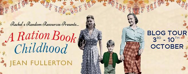 A Ration Book Childhood Banner