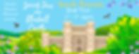 Spring Skies over Bluebell Castle Banner