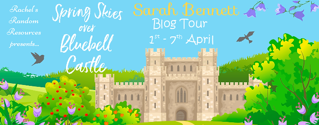 Spring Skies over Bluebell Castle Banner