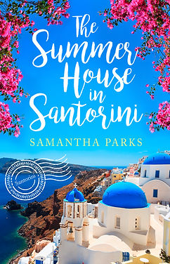 The Summer House in Santorini Cover