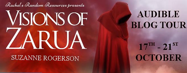 Visions of Zarua Audible Banner