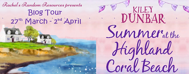 Summer at the Highland Coral Beach Banner