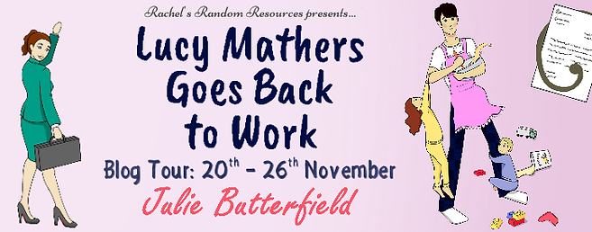 Lucy Mathers Goes Back To Work Banner