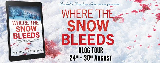 Where The Snow Bleeds Banner
