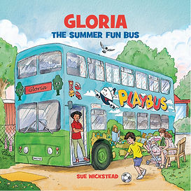 Gloria the Summer Fun Bus Cover