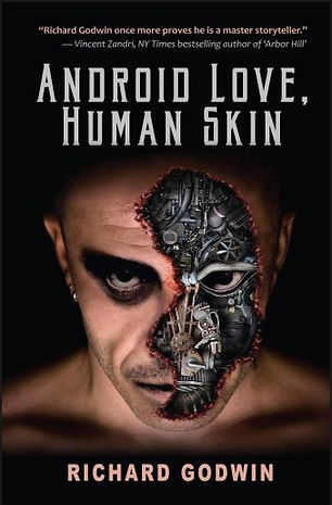 Android Love, Human Skin Cover