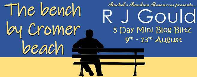 The bench by Cromer beach Banner