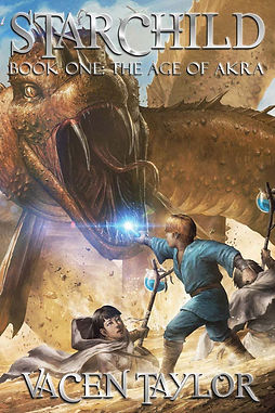 Starchild Book One: The Age of Akra Cover
