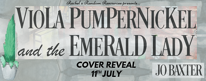 Viola Pumpernickel and the Emerald Lady Banner