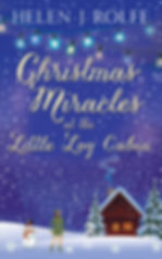 Christmas Miracles at the Little Log Cabin Cover