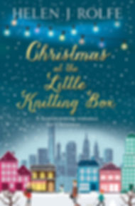 Christmas at the Little Knitting Box Cover