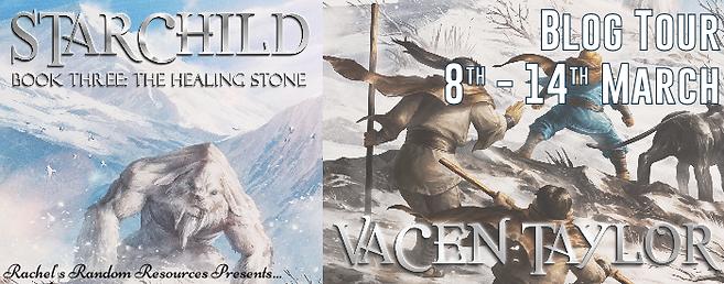 Starchild Book Three:  The Healing Stone Banner