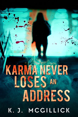 Karma Never Loses An Address Cover