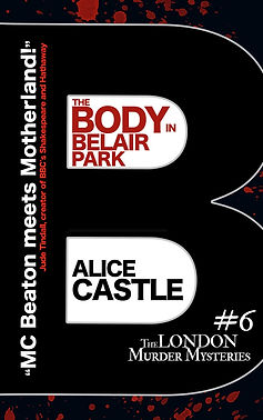 The Body in Belair Park Cover