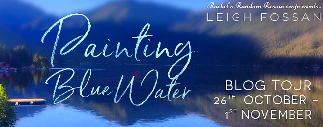 Painting Blue Water Banner