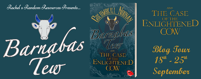 Barnabas Tew and the Case of the Enlightened Cow Banner