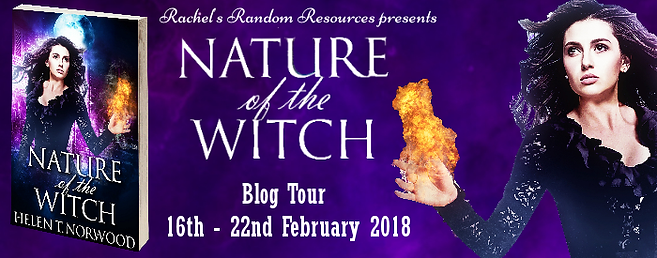 Nature of the Witch Blog Tour Banner