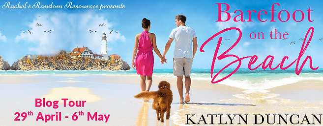 Barefoot on the Beach Banner