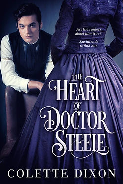 The Heart Of Doctor Steele Cover