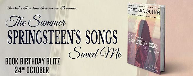 The Summer Springsteen's Songs Saved Me Banner