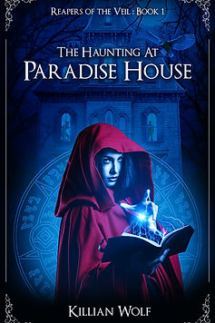 The Haunting at Paradise House Cover