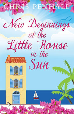 New Beginnings at the Little House in the Sun Cover