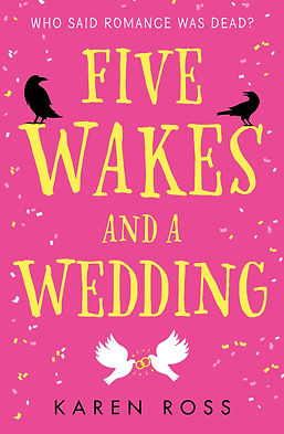 Five Wakes And A Wedding Cover