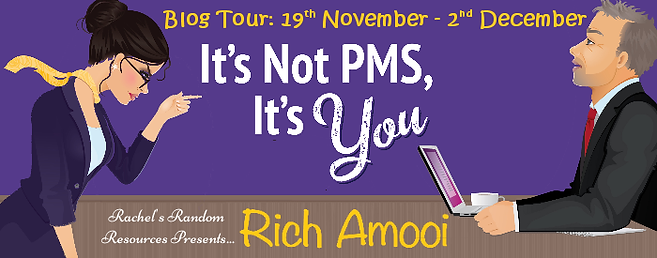 It's Not PMS, It's You Banner