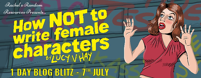 How Not To Write Female Characters Banner